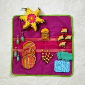 American Girl Retired Fiesta Piñata Picnic Set